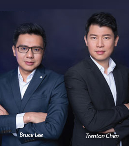 Bruce Lee, Chief Operating Officer and Trenton Chen, CEO & Co-Founder, Hard Core Technology