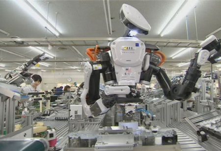 Robots Revolutionizing Assembly Line